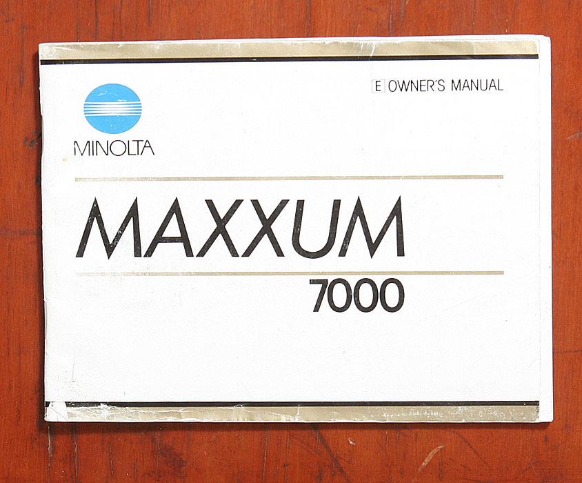Manual minolta 7000 array pacific rim camera catalog rh pacificrimcamera com fandeluxe Images