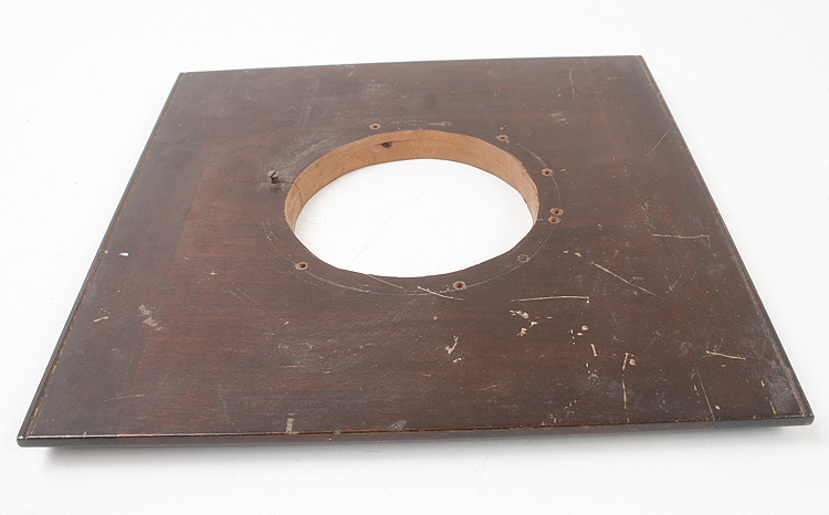 LENS BOARD, 189MM SQUARE, ROUGHLY 77MM HOLE/168511