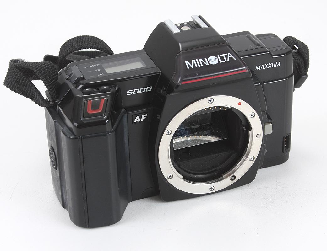 Minolta 5000 AF 5000af Body Gehäuse SLR Kamera Spiegelreflexkamera ...