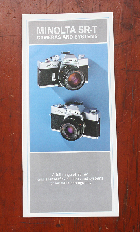 A4-Product Brochure Minolta SLR Film System Accessories