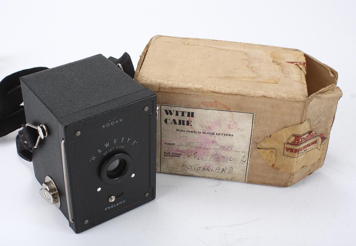 Details about KODAK LONDON BABY HAWKEYE, USES 127 FILM, BOXED/cks/196007