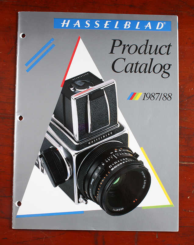 1989 Hasselblad Product Catalogue
