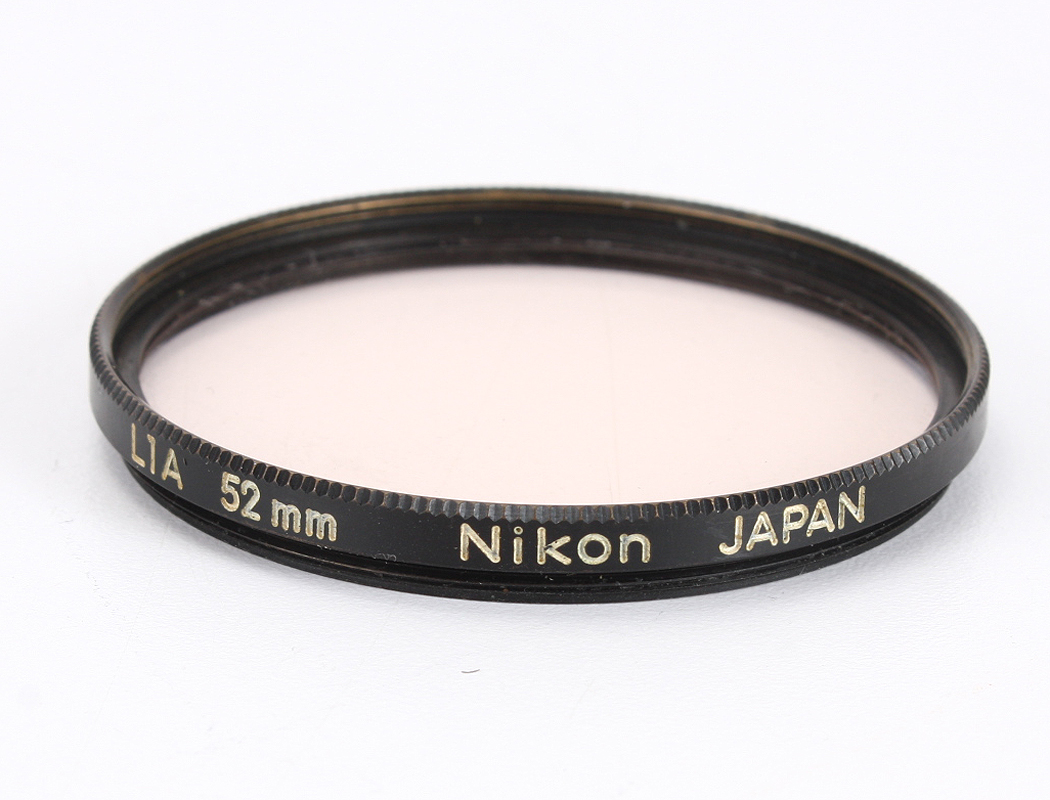 New 52MM NIKON L37 UV Filter in Box